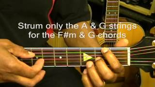 John Legend You And I Guitar How To Play Lesson Tutorial On Guitar EricBlackmonMusic