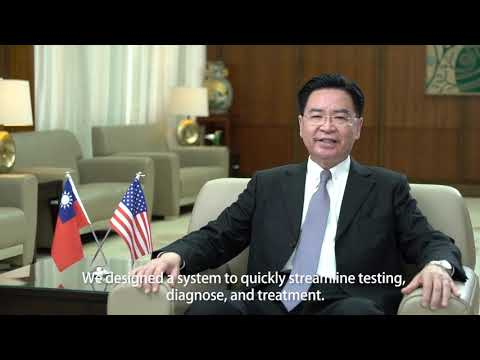 Remarks by Foreign Minister Dr. Joseph Wu on Taiwan's efforts to fight against COVID-19