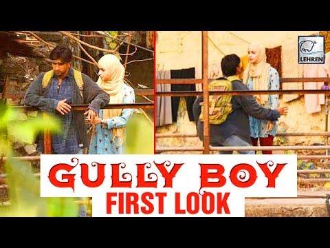 Ranveer Singh & Alia Bhatt LOOK From Gully Boy REV