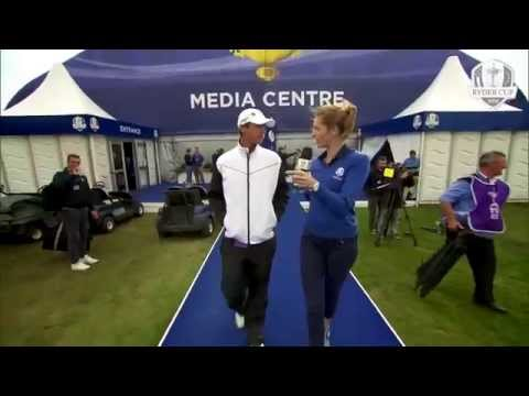 Nicolas Colsaerts on being a Ryder Cup Rookie