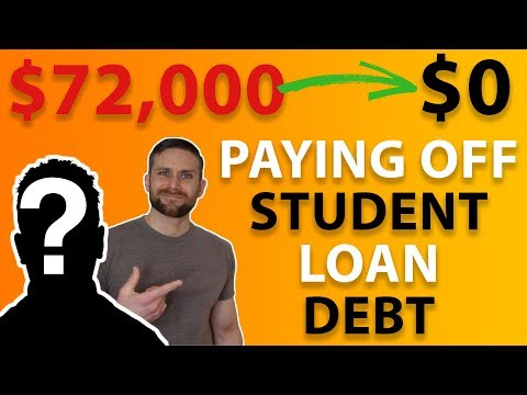 Paying Off $72,000 In Student Loan Debt | Debt Free Journey (INTERVIEW)