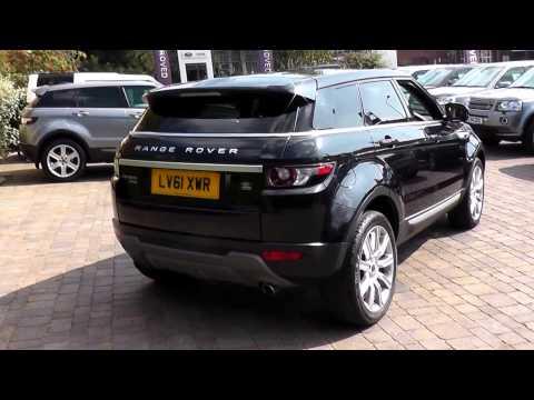Beadles Black 2012 Land Rover Range Rover Evoque Prestige 2.2l