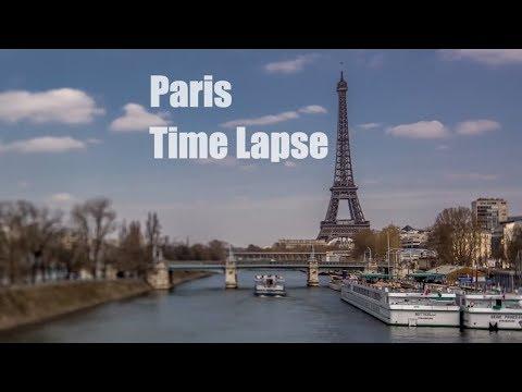 PARIS EIFFEL TOWER TIME LAPSE