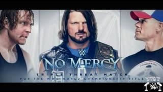 No Mercy 2016: AJ Styles vs. Dean Ambrose vs. John Cena Match Card | WWE Argentina