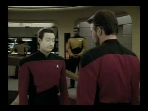 """No You CAN'T Don't Even Try"" --ST:TNG S4E8's Riker"