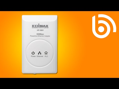 Edimax HP-5001 Overview