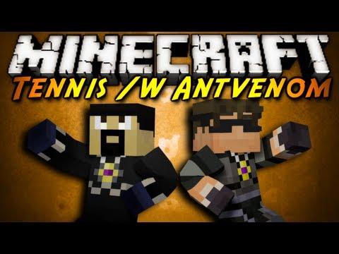 Minecraft: TENNIS /w Antvenom!