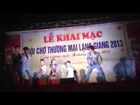 Gangnamstyle pys nhảy ngựa cùng lâm chấn huy lạng giang 2013