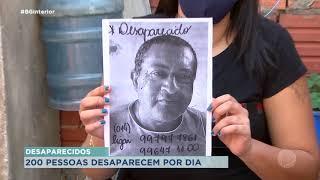 Famílias buscam por parentes desaparecidos