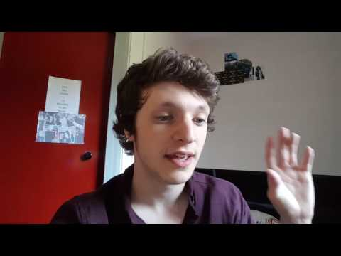 Vlog: James talks about his first year at Staffordshire University