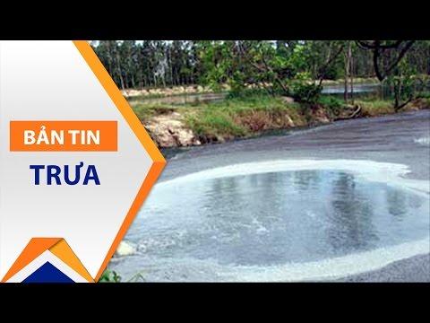 Vỡ đập bùn thải: Điều tra xí nghiệp Suối Bắc | VTC - Thời lượng: 85 giây.