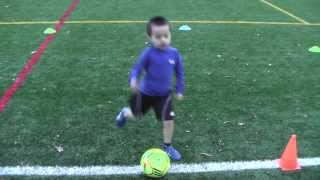 4 Year Old Soccer Player