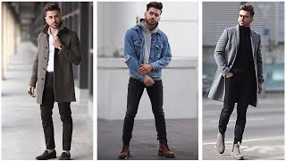 Video MEN'S FASHION INSPIRATION   WINTER LOOKBOOK 2018   3 Easy Outfits for Men MP3, 3GP, MP4, WEBM, AVI, FLV Februari 2019