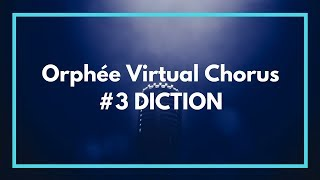 Orphée et Eurydice Virtual Chorus #3 DICTION