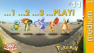 360 video plus Pokemon. Find: Squirtle Dragonite Typhlosion Me...