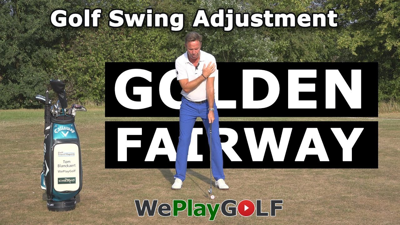 Do I have to adjust my golf swing on a golden fairway? Yes, and this is how!