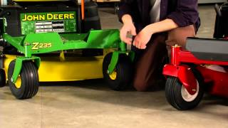 8. Zero Turn Riding Lawn Mower Comparison: Toro vs. John Deere