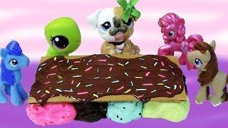 Ice Cream Table Buyer Littlest Pet Shop My Little Pony LPS MLP Webkinz DIY