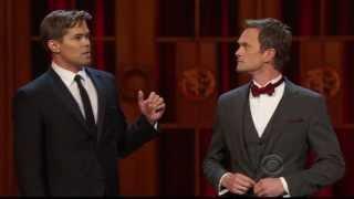 "2013 Tonys - Funny Duet ""Kiss LA Goodbye"""