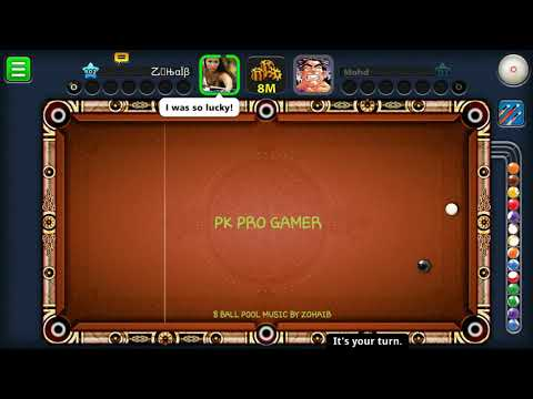8 Ball Pool Song By Zohaib | Pk Pro Gamer