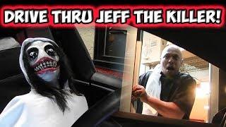 Video Drive Thru Jeff The Killer Prank!! MP3, 3GP, MP4, WEBM, AVI, FLV September 2017