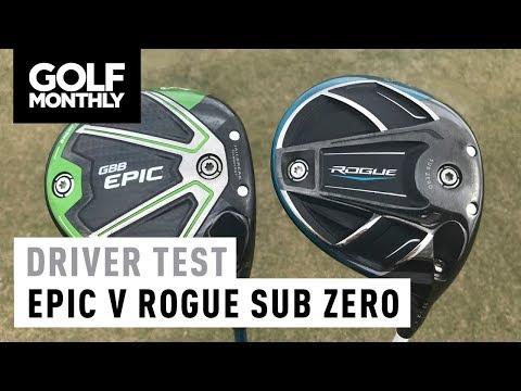 Callaway Epic Sub Zero v Rogue Sub Zero | Driver Test | Golf Monthly