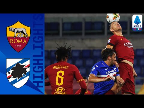 Roma 2-1 Sampdoria | Dzeko's brace guided Roma to a come-from-behind 2-1 victory! | Serie A TIM