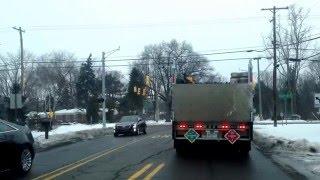 Farmington Hills (MI) United States  city photos : Driving from Farmington Hills, Michigan to Pontiac, Michigan