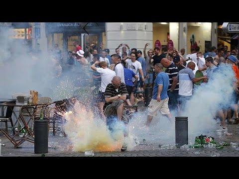 Γαλλία: Σοβαρά επεισόδια μεταξύ Άγγλων και Ρώσων χούλιγκαν στη Μασσαλία