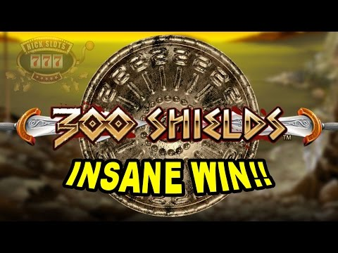 INSANE WIN on 300 Shields Slot - £0.50 Bet