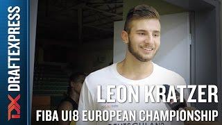 Leon Kratzer 2015 FIBA U18 European Championship Interview