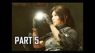 Shadow of the Tomb Raider Walkthrough Part 5 - Forest Monster (Let's Play Gameplay Commentary)