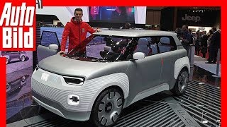 Fiat Centoventi Concept (Genf 2019) - Erster Eindruck / Details / Review by Auto Bild