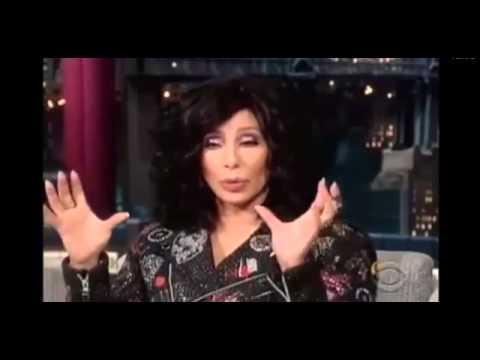 Cher on David Letterman 24 September, 2013