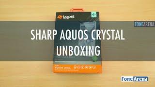 Sharp Aquos Crystal Unboxing - Bezelless Smartphone