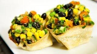 Black Beans Salad (Salsa) Recipe