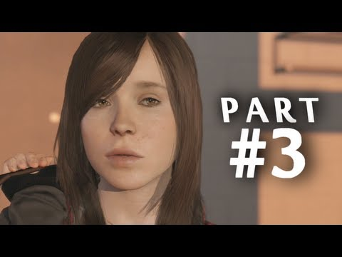 Beyond Two Souls Gameplay Walkthrough Part 3 - Welcome to the CIA