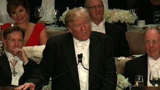 WATCH: Donald Trump's Speech at the Al Smith Dinner
