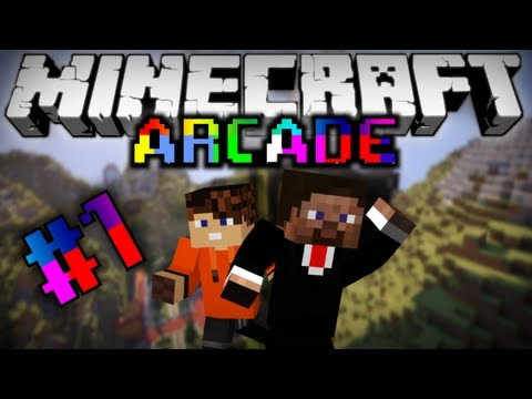 Minecraft Arcade #1 [Играем с Ялычем!]