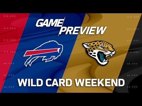 Video: Buffalo Bills vs. Jacksonville Jaguars | NFL Wild Card Weekend Game Preview | NFL Playbook