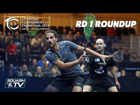 Squash: Tournament of Champions 2019 - Men's Rd 1 Roundup [Pt.2]