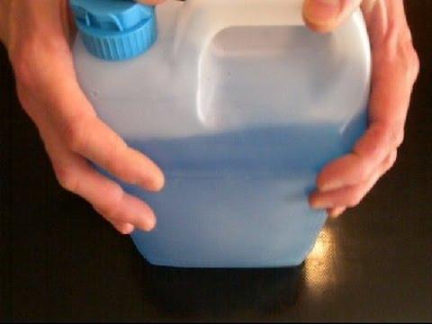 Préparer son propre liquide lave-glace