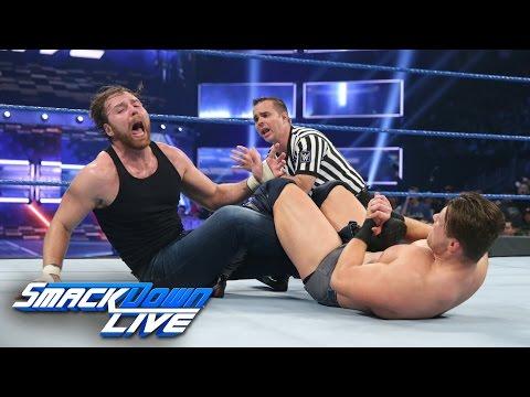 Dean Ambrose vs. The Miz - Intercontinental Title Match: SmackDown LIVE, Dec. 6, 2016 (видео)
