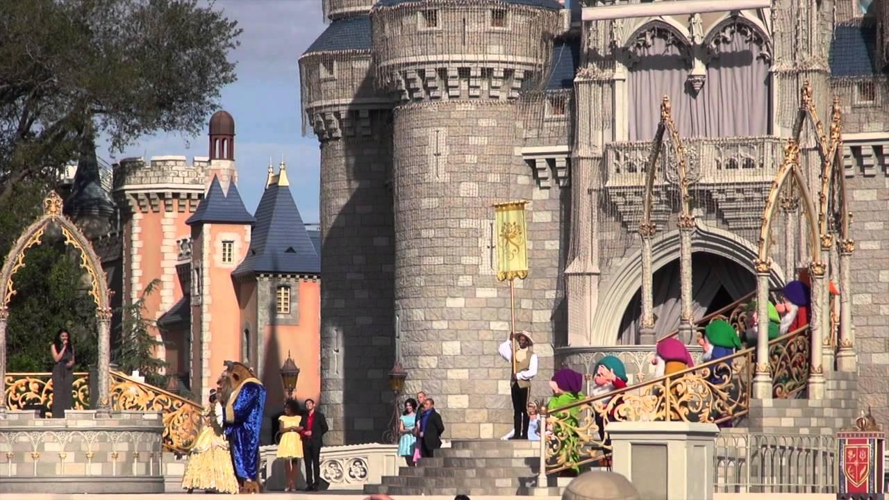 New Fantasyland grand opening dedication ceremony