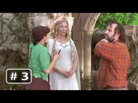 The Hobbit Behind the Scenes B-Roll Part 3