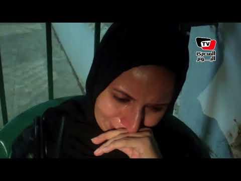 انهيار وبكاء أثناء تشييع جنازة «أحمد شوشة» شهيد اشتباكات الواحات