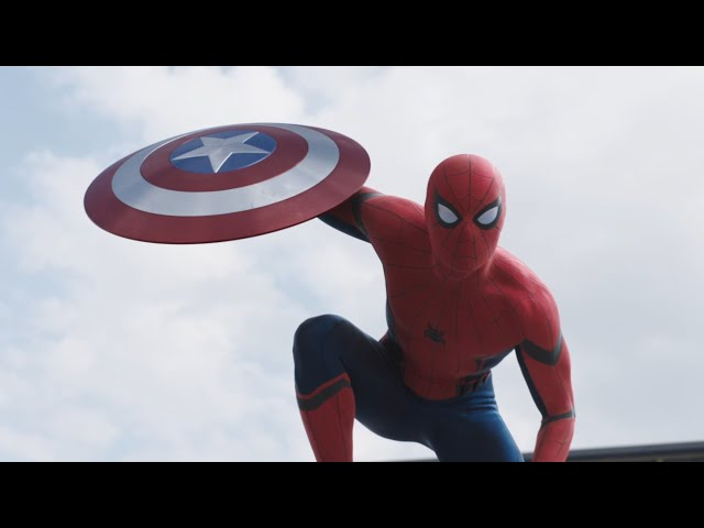 Anteprima Immagine Trailer Captain America: Civil War, secondo trailer con Spiderman
