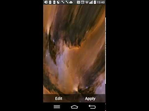 Video of Black Hole Live Wallpaper