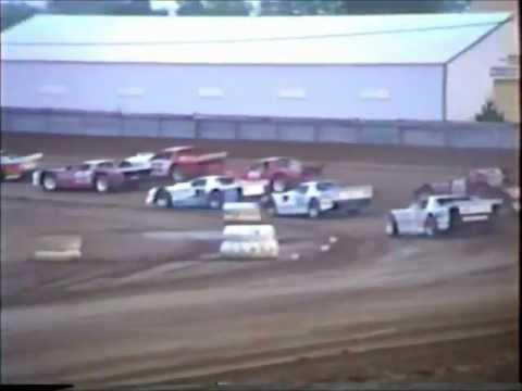 2nd Heat Race Modified Street Stock's Independence Motor Speedway 1980'?