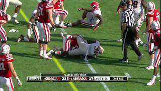 Rex Burkhead vs Georgia (2012 Bowl)
